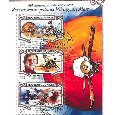 Timbres thèmatiques Niger N° 1028 Oblitérés