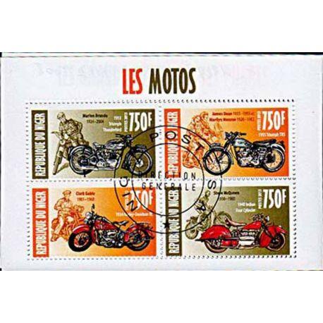 Timbres thèmatiques Niger N° 1929/32 Oblitérés