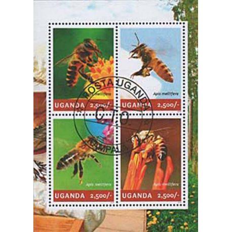 Timbres thèmatiques Ouganda N° 2626/29 Oblitérés