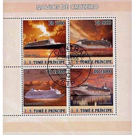 Timbres thèmatiques Saint Thomas Et Prince N° 2292/95 Oblitérés
