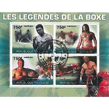 Timbres thèmatiques Togo N° 2280/2283 Oblitérés