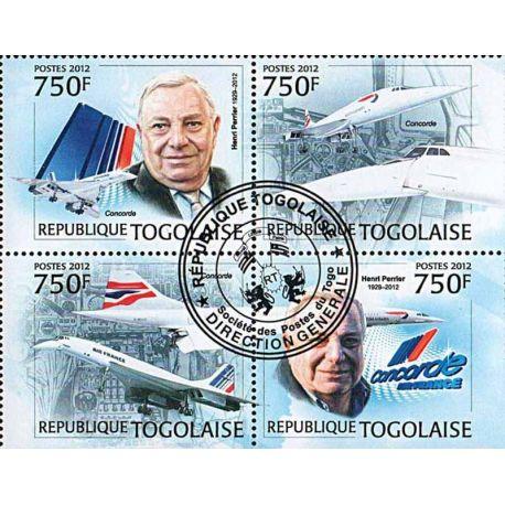 Timbres thèmatiques Togo N° 2952/55 Oblitérés