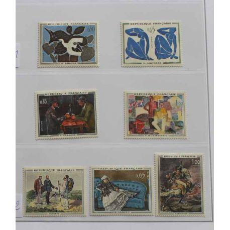 Collection des tableaux de France neufs sans charnière