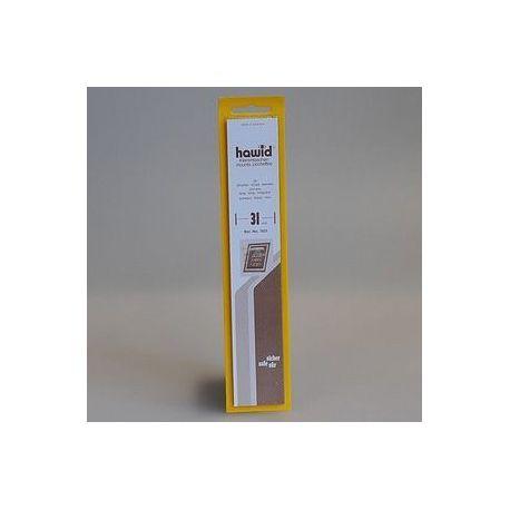 25 bandes Hawid de 210 mm noire double soudure Nombreux formats disponibles à partir de 7,50 €