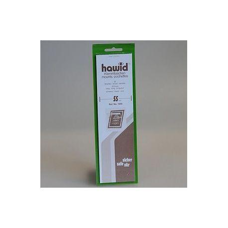 10 bandes Hawid de 235 mm noire double soudure Nombreux formats disponibles à partir de 5,15 €
