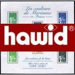 Formats spéciaux pochettes/bandes Hawid noire dble soudure