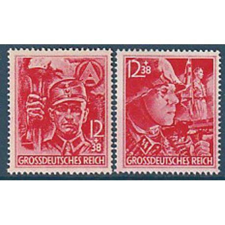 Timbre collection Allemagne N° Yvert et Tellier 825/826 Neuf sans charnière