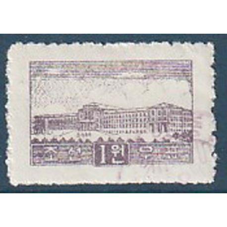 Timbre collection Corée du Nord N° Yvert et Tellier 20 Oblitéré