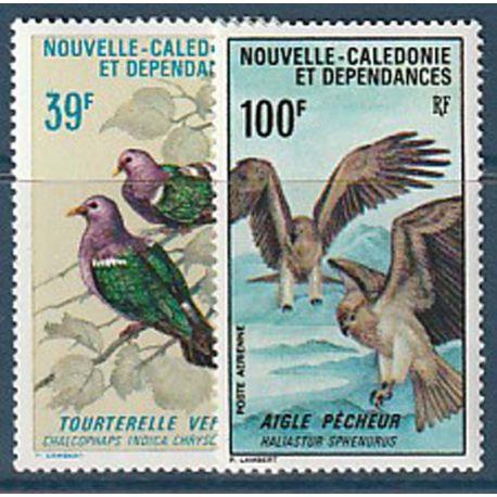 Timbre collection Nouvelle Calédonie N° Yvert et Tellier PA 110/111 Neuf avec charnière