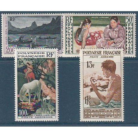Timbre collection Polynésie N° Yvert et Tellier PA 1/4 Neuf sans charnière