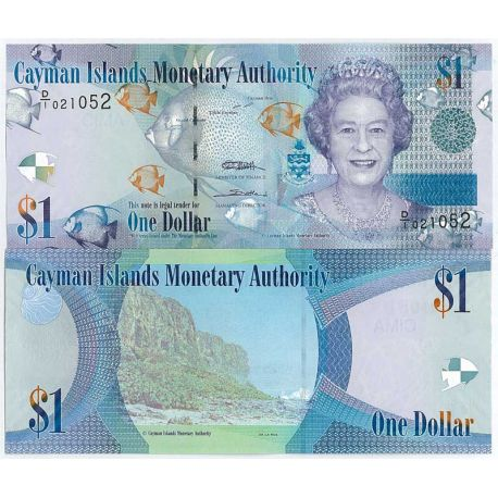 Billets de collection Billets collection Caimanes Pk N° 38 - 1 Dollars Billets des Caimanes 6,00 €