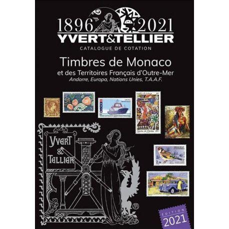 Katalog Monaco und TOM Yvert und Tellier 2015