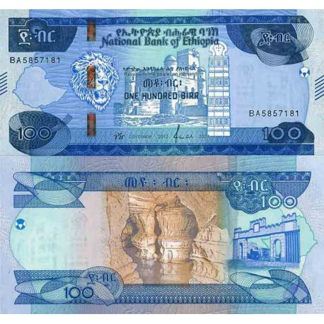 Billet de banque collection Ethiopie - PK N° 999 - 100 Birr