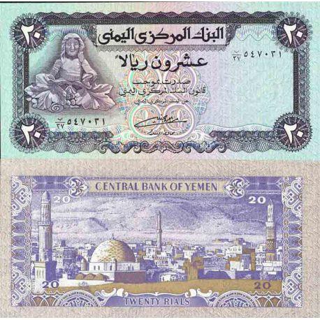 Billet de banque collection Yémen - PK N° 19 - 20 Rials