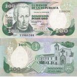 Bello banconote Colombia Pick numero 429 - 200 Peso 1982
