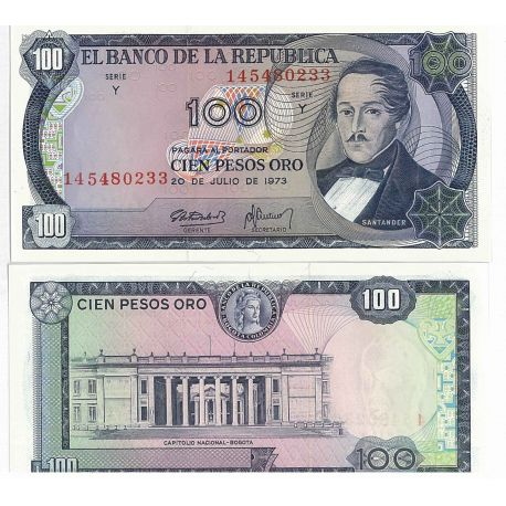Billets de collection Billet de collection Colombie Pk N° 415 - 100 Pesos Billets de Colombie 26,00 €