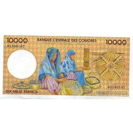 Comoros - Pk No. 14 - 10000 Franks ticket
