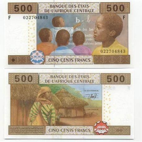 Billets de collection Billets collection Afrique Centrale Guinee Equatoriale Pk N° 506 - 500 Francs Billets de Guinée Françai...