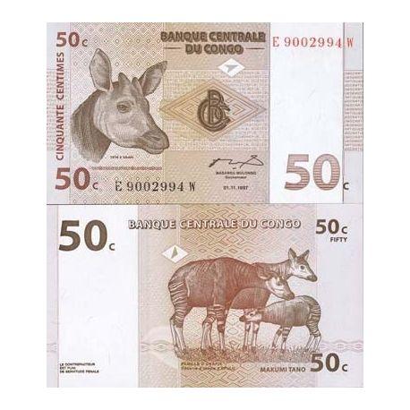 Congo - Pk N° 84 - Billet de 50 Francs