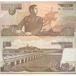 Schone Banknote Nordkorea Pick Nummer 41 - 10 Won 1992