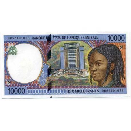 Billets de collection Billet de collection Afrique Centrale Guinee Equatoriale Pk N° 505 - 10000 Francs Billets de Guinée Fra...