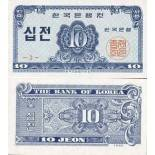 Banknote South Korea Pick number 28 - 10 Won 1962