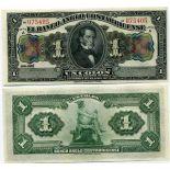 Banknoten Sammlung Costa Rica Pick Nummer 121 - 1 Colon