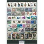 Briefmarke Spanien neues ganzes Jahr 1970