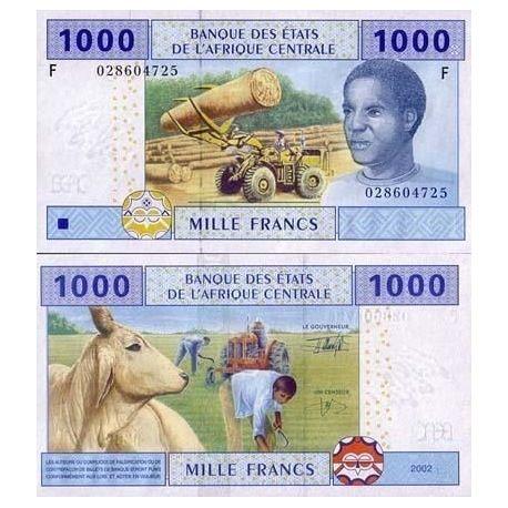 Billets de collection Billets collection Afrique Centrale Guinee Equatoriale Pk N° 507 - 1000 Francs Billets de Guinée França...