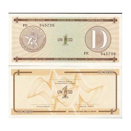 Cuba - Pk No. 27 - 1 ticket Pesos