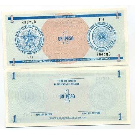 Cuba - Pk: # 11 - 1 ticket Pesos