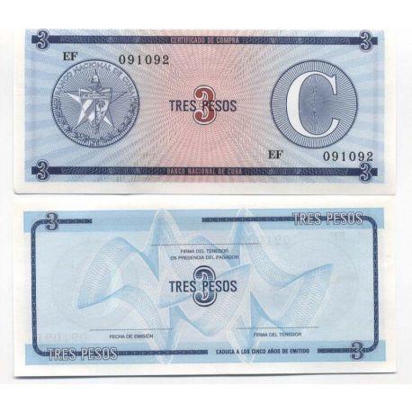 Cuba - Pk # 20 - Ticket to 3 Pesos