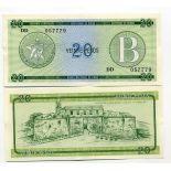 Billets banque Cuba Pk N° 9 - 20 Pesos