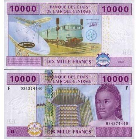 Billets de collection Billet de collection Afrique Centrale Guinee Equatoriale Pk N° 510 - 10000 Francs Billets de Guinée Fra...