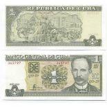 Billets de banque Cuba Pk N° 121 - 1 Peso