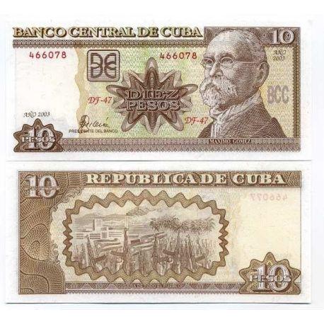 Cuba - Pk # 117 - Ticket 10 Pesos