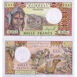 Schone Banknote Djibouti Pick Nummer 37 - 1000 FRANC 1979
