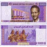 Billets de banque Djibouti Pk N° 44 - 5000 francs