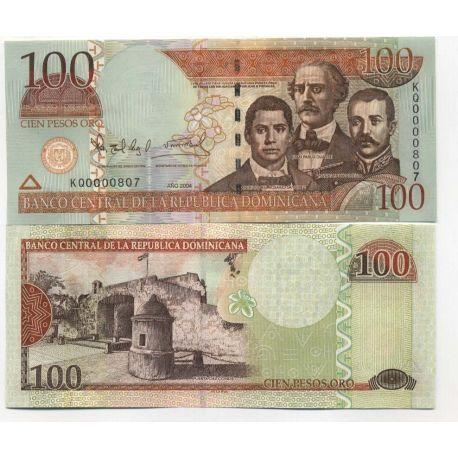 Billets de collection Billet de banque Dominicaine Repu. Pk N° 171 - 100 Pesos Billets de République Dominicaine 12,00 €