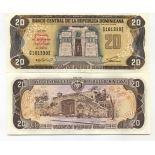 Collezione banconote Repubblica Dominicana Pick numero 139 - 20 Peso 1992