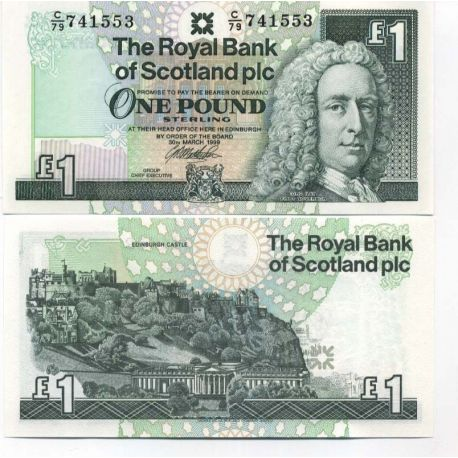 Billets de collection Billet de collection Ecosse Pk N° 351 - 1 livre Billets d'Ecosse 6,00 €