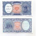 Billet de collection Egypte Pk N°191- 10 Piastres