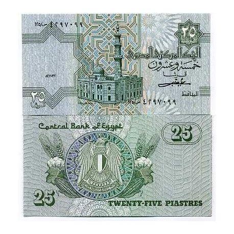 Egypte - Pk N° 54 - Billet de 25 Piastres