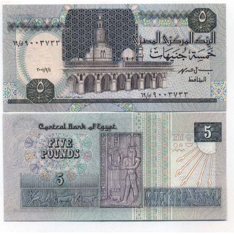 Egypte - Pk N° 59 - Billet de 5 Piastres
