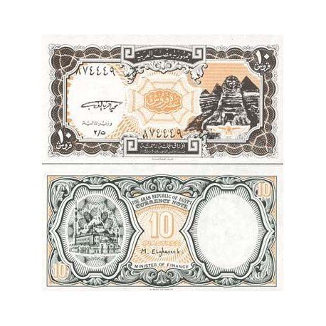 Billet de banque Egypte Pk N° 187 - 10 Piastres