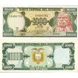 Collezione banconote Ecuador Pick numero 125 - 1000 Sucre 1984