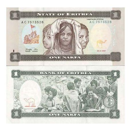 Eritrea - Pk No. 1 - 1 ticket Nafka