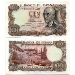 Banknote Spain Pick number 152 - 100 Peseta 1970