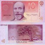 Banconote Estonia Pick numero 77 - 10 Krooni 1994