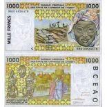 Billets banque Afrique De L'ouest B Faso Pk N° 311 - 1000 Francs